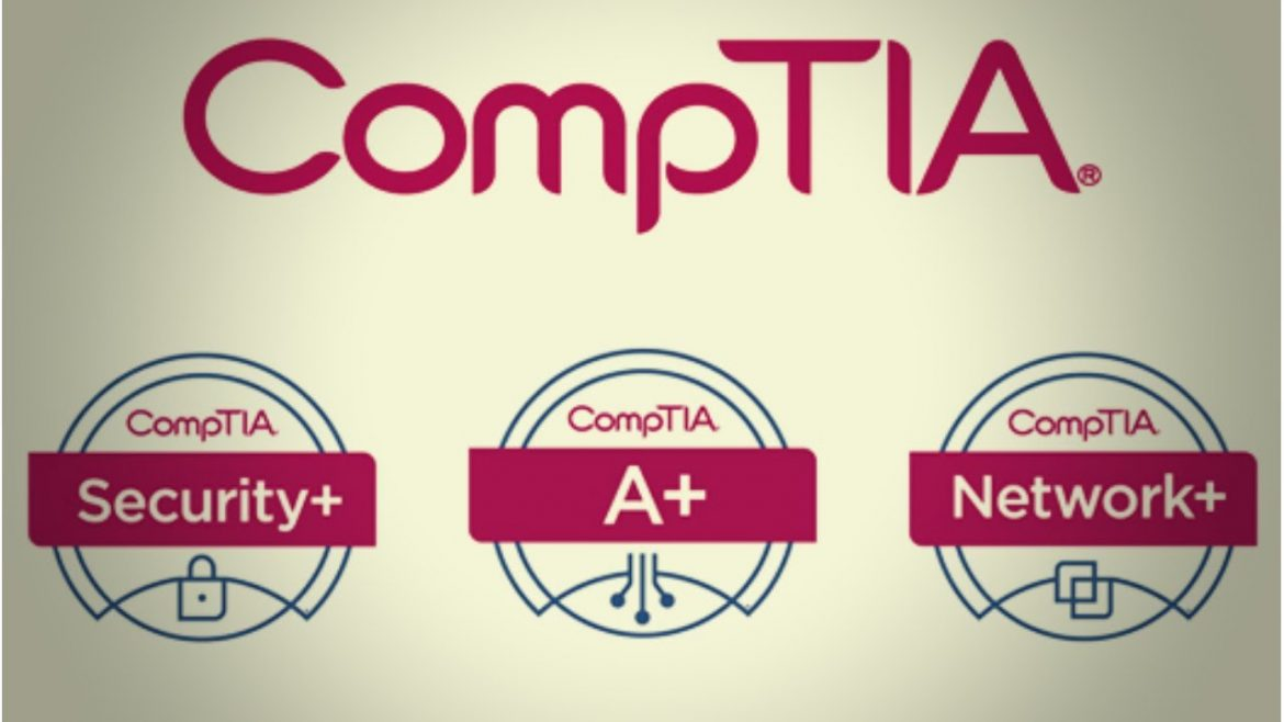 What is the cost of the CompTIA+ network examination?